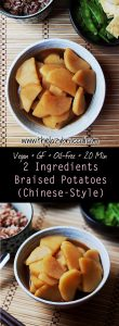 Vegan 2 Ingredients Braised Potatoes Chinese Style